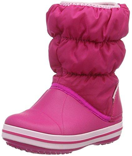 crocs Winter Puff Boot, Unisex-Kinder Schneestiefel, Pink (Candy Pink 6X0), 30/31 EU (C13 M�dchen UK)