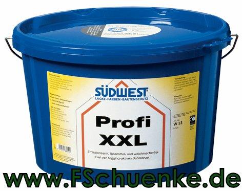 S�DWEST Profi XXL Innenfarben W53 weiss 9110 2,5 l Verbrauch: 140 ml/m� pro Anstrich