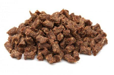 Erlebnis Hund Hundeleckerli Lammfleisch Minis 200g getreidefrei luftgetrocknet ohne Innereien (ca. 1cm)