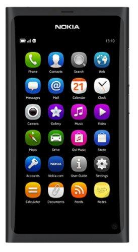 Nokia N9 Smartphone (9,9 cm (3,9 Zoll) Display, 16GB, Touchscreen, 8 Megapixel Kamera) [EU-Import] schwarz
