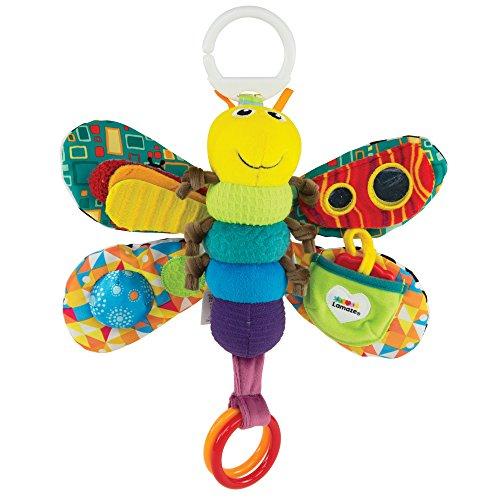 """Lamaze Baby Spielzeug """"Freddie, das Gl�hw�rmchen"""" Clip & Go - hochwertiges Kleinkindspielzeug - Greifling Anh�nger zur St�rkung der Eltern-Kind-Beziehung - ab 0 Monate"""