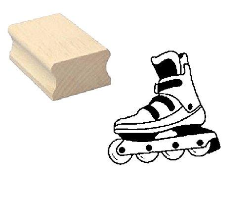 Stempel Holzstempel Motivstempel � INLINESKATE � Scrapbooking - Embossing Kinderstempel Inliner Inlineskaten Sport Rollerblades Skaten Rollschuh