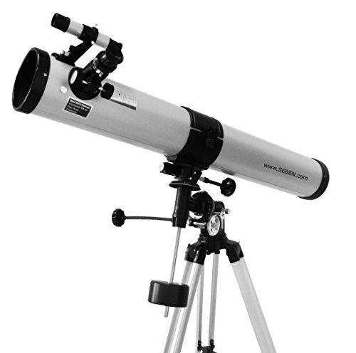 Seben 900-76 EQ2 Reflektor Teleskop inkl. Big Pack Zubeh�r Paket