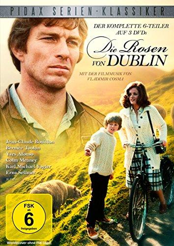 Die Rosen von Dublin / Die komplette 6-teilige Abenteuerserie (Pidax Serien-Klassiker) [3 DVDs]