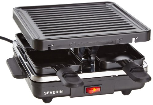 Severin RG 2686 Raclette-Grill, 4 Pf�nnchen