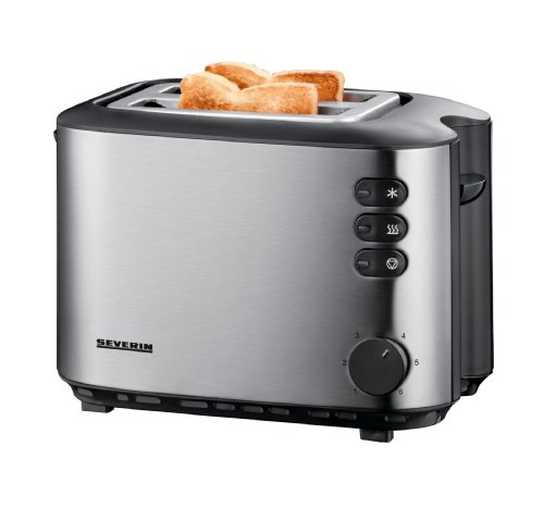 Severin AT 2514 Automatik-Toaster (850 Watt), edelstahl
