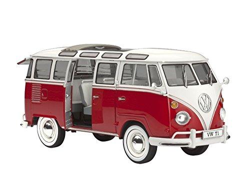 """Revell 07399 - Modellbausatz VW T1"""" Samba Bus"""" im Ma�stab 1:24"""