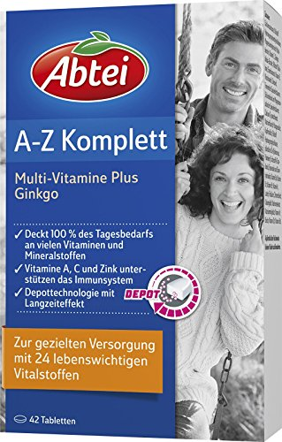 Abtei A-Z Complete + Gingko 42 St�ck