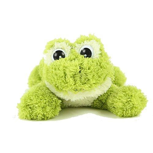 Inware 6225 - Kuscheltier Frosch Freaky, liegend, 23 cm, Schmusetier