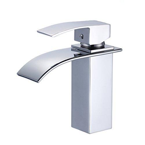 Auralum� Design Einhebel Wasserhahn Armatur Waschtischarmatur Wasserfall Einhandmischer f�r Badezimmer Waschbecken