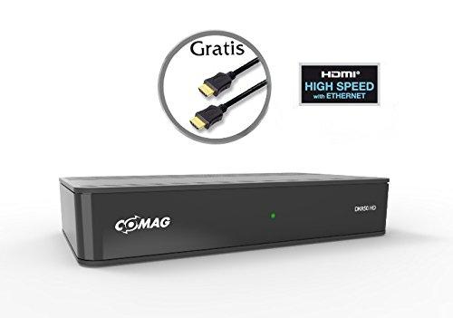 COMAG DKR50HD digitaler HDTV Kabelreceiver (DVB-C, geeignet f�r alle deutschen Kabelnetze! USB 2.0, HDMI, Video-Aufl�sung: 1080p,1080i, 720p) inkl. gratis Qualit�ts-HDMI-Kabel, schwarz