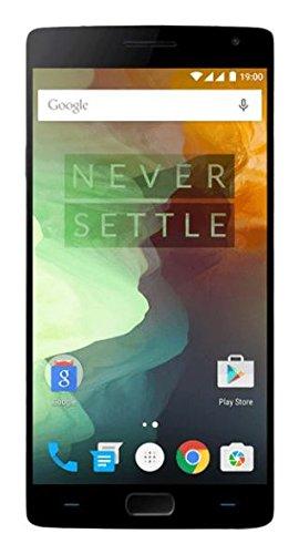 OnePlus 2 Smartphone (5,5 Zoll Display, 64 GB interner Speicher, Android 5.1) schwarz