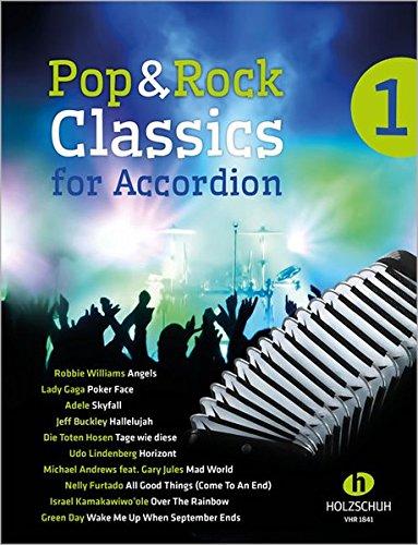 Pop & Rock Classics for Accordion 1