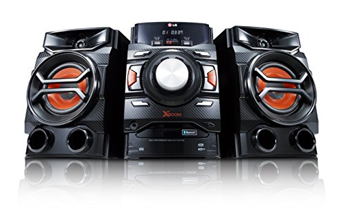 LG CM4350 Stereo Kompaktanlage (260 Watt, CD, Radio, Bluetooth, USB, MP3, WMA) schwarz
