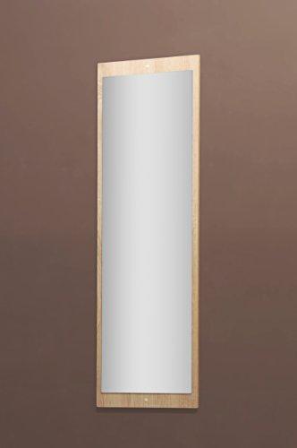 5077-11 - Spiegel od. Garderobenspiegel, in sonoma Eiche s�gerau, 112 x 38 cm