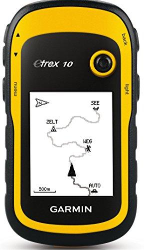 """Garmin eTrex 10 GPS Handger�t - 2,2"""" Touchdisplay, Batterielaufzeit bis 25 Std., gro�er interner Speicher"""