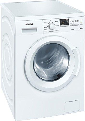 Siemens WM14Q342 Waschmaschine Frontlader / A+++ / 139 kWh/Jahr / 1400 UpM / 7 kg / 9240 L/Jahr / Aquastop / wei�