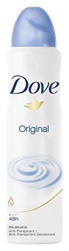 Dove Deospray Original Anti-Transpirant, 3er Pack (3x 150 ml)