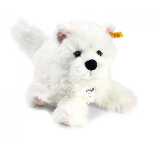 Steiff 076992 - Sam West Highland Terrier 30 cm, wei�