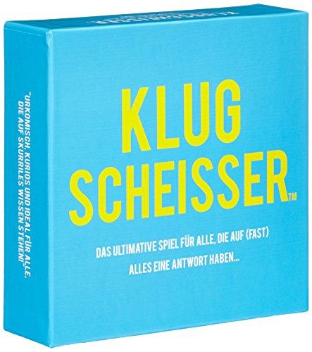 KLUGSCHEISSER - das ultimative Spiel f�r alle, die auf (fast) alles eine Antwort haben...