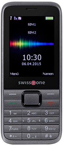 swisstone SC 560 - Dual SIM Mobiltelefon mit extra gro�em beleuchtetem Farbdisplay