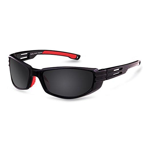 Duco Neue polarisierte Entwerfer Schwimm Sonnenbrille ideal f�r Angeln, Bootfahren und Wassersport-6212