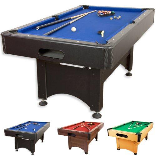Pool Billard Billardtisch Trendline, verschiedene Farbvarianten, 5 ft, massive Ausf�hrung + Zubeh�r