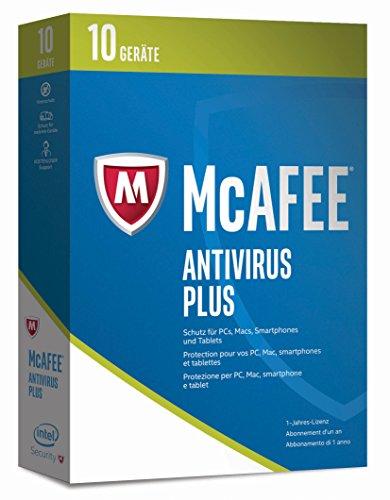 McAfee AntiVirus Plus 2017 - 10 Ger�te Minibox [Online Code]