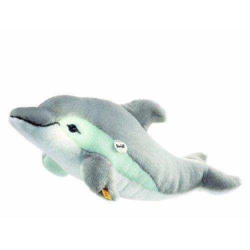 Steiff 063183 - Cappy Delphin, grau / wei�, 35 cm