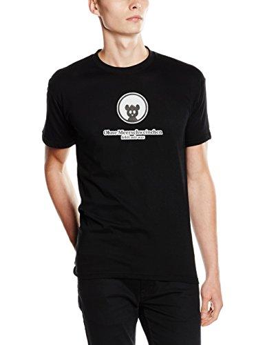Shirtzshop T-shirt Ohne Haustier fehlt mir was - Meerschwein, Schwarz, XXL, ss-shop-top_ohne-t-8