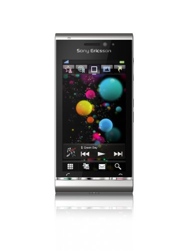 Sony Ericsson Satio Smartphone (UMTS, Wi-Fi, aGPS, 12.1 MP, Xenon Blitz) silber