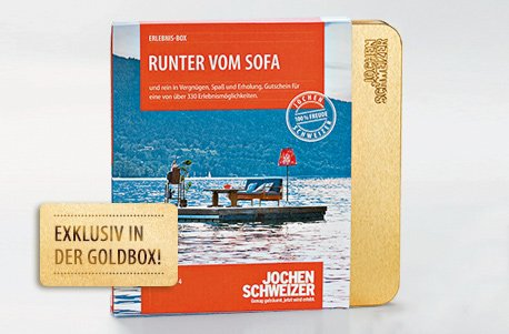 Erlebnis-Box 'Runter vom Sofa'
