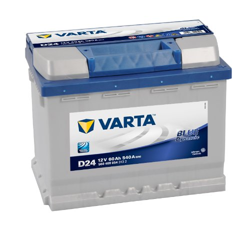 Varta 5604080543132 Starterbatterie in Spezial Transportverpackung und Auslaufschutz Stopfen (Preis inkl. EUR 7,50 Pfand)