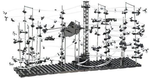 Playtastic Professionelle Kugel-Achterbahn, 682-teiliger Mega-Bausatz