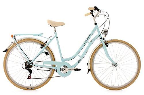 KS Cycling Damen Fahrrad Casino Hellblau 6 G�nge RH 54 cm, Blau, 28, 952B