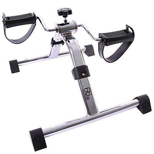 66fit Arm- u. Bein-Pedaltrainer - faltbarer mini Heimtrainer, Physiotherapie