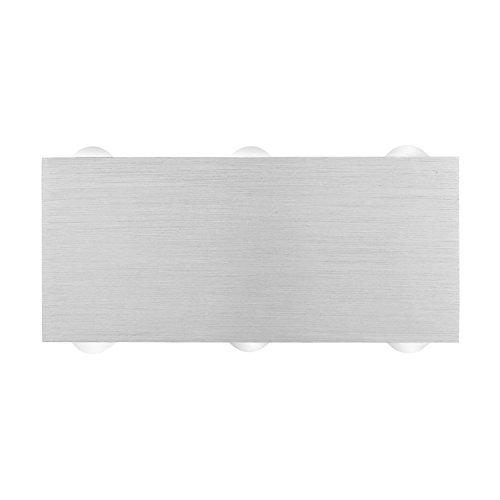 Amzdeal LED Wandleuchte innen aus Aluminium warmwei� 18W