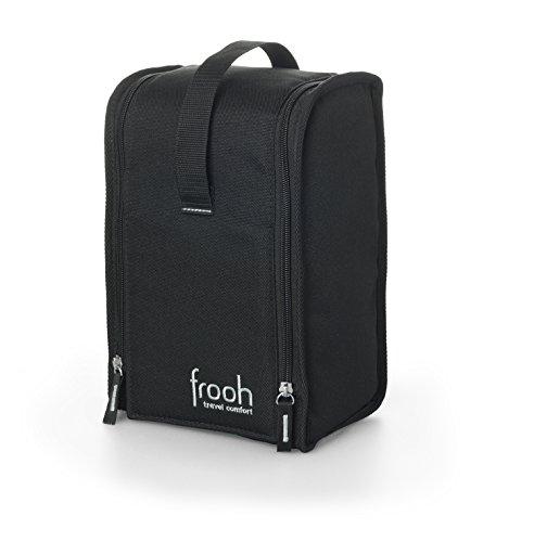 frooh� Toiletten Hygiene Tasche L: Die Toilettentasche f�r feuchte Toilettent�cher und Hygieneartikel, mit mobilem Toilettenpapierhalter