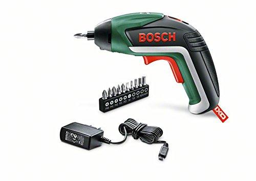 Bosch DIY Akku-Schrauber IXO 5. Generation, 10 Schrauberbits, USB-Ladeger�t, Metalldose (3,6 V, 1,5 Ah, 215 min-1 Leerlaufdrehzahl)