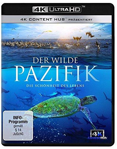 Der wilde Pazifik 4K - Die Sch�nheit des Lebens 4K UHD [Ultra HD Blu-ray]