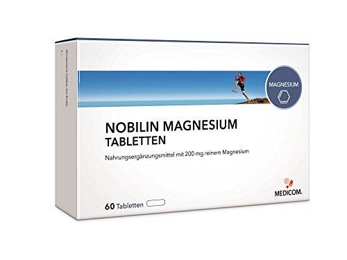 NOBILIN MAGNESIUM Tabletten 200 mg, Brausetabletten 200 mg oder Sticks 400 mg f�r Muskel-Funktion, Elektrytausgleich & Energiesstoffwechsel beim Sport