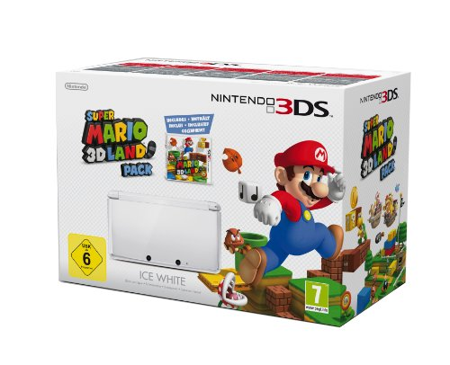 3DS Konsole wei� + Super Mario 3D Land