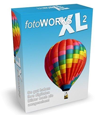 Fotoworks XL 2 (2016er Version) Fotoprogramm zur Fotobearbeitung in Deutsch - umfangreiche Funktionen beim Foto bearbeiten und einfache Handhabung