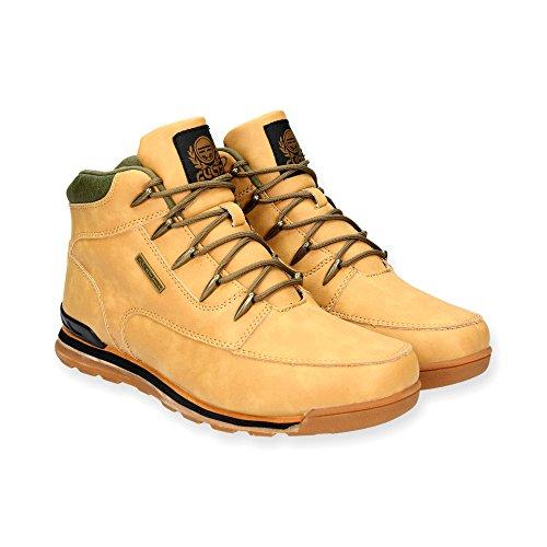 Herren Outdoor Stiefeletten |Trekking Stiefel im modischen Design f�r Herren| Sportschuhe Sneaker Schuhe | Schn�r Boots f�r Sport und Freizeit |Gr. 41 bis 45 | Japanolo | Camel EU 41
