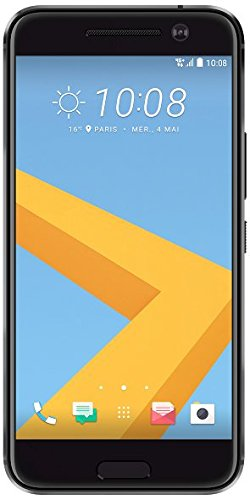 HTC 10 Smartphone (13,2 cm (5,2 Zoll) Super LCD 5 Display, 1440 x 2560 Pixel, 12 Ultrapixel, 32 GB, Android) carbon grau