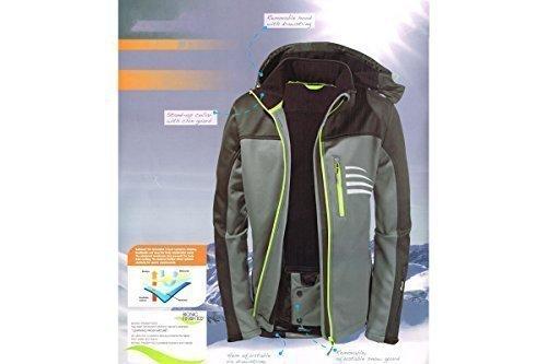 Herren Softshell Ski Snowboard Jacke Winter Skisport BIONIC FINISH� ECO (M (48/50))
