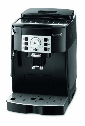 DeLonghi ECAM 22.110.B Kaffee-Vollautomat (1450 Watt, 1,8 Liter, 15 bar, Dampfd�se) schwarz