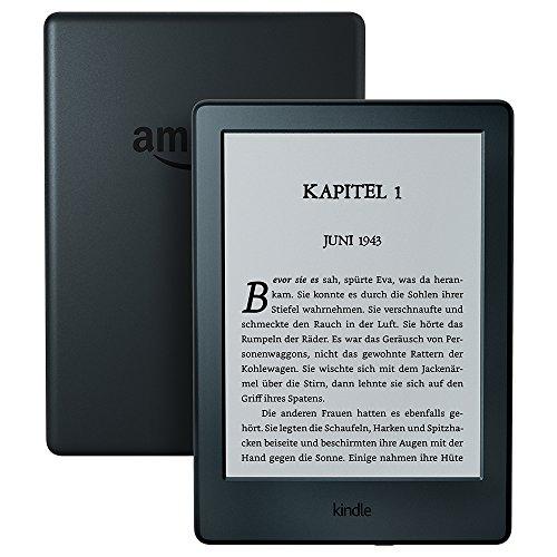 Der neue Kindle eReader, 15,2 cm (6 Zoll) Touchscreen ohne Spiegeleffekte, WLAN (Schwarz) - mit Spezialangeboten