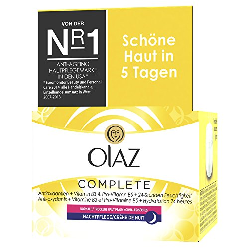 Olaz Essentials Complete Nachtcreme, 50ml