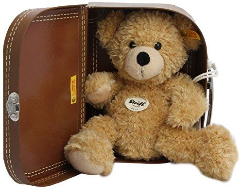 Steiff 111471 - Teddyb�r Fynn, beige, ca. 28 cm, mit Koffer